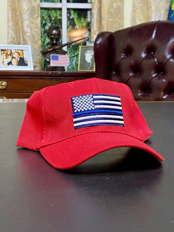 Blue Line Hat