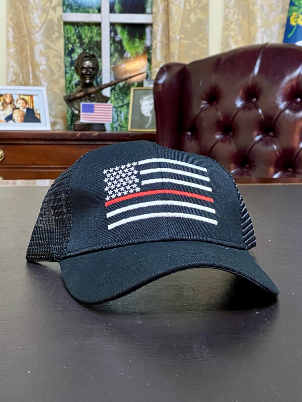 Red Line Trucker Hat