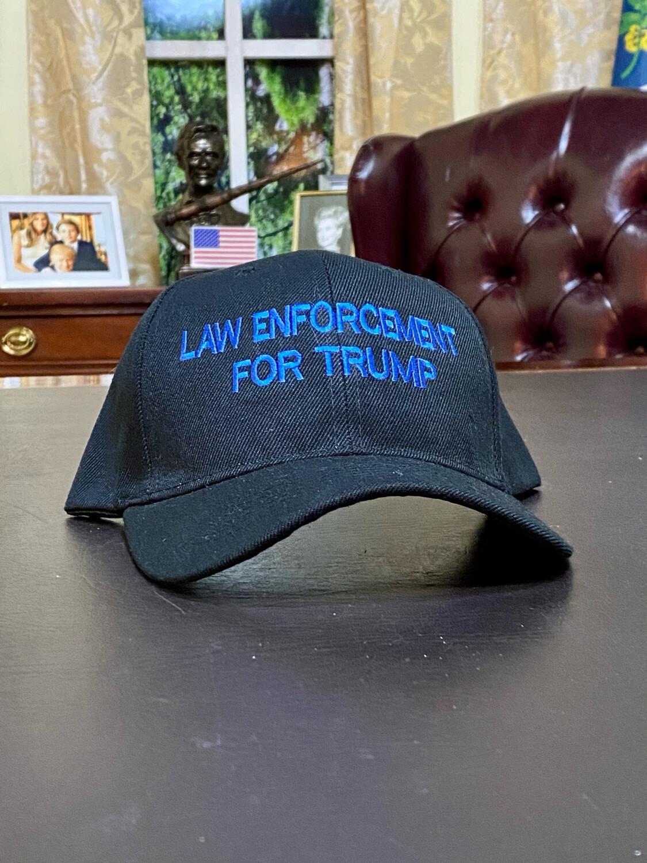 Law Enforcement For Trump Hat