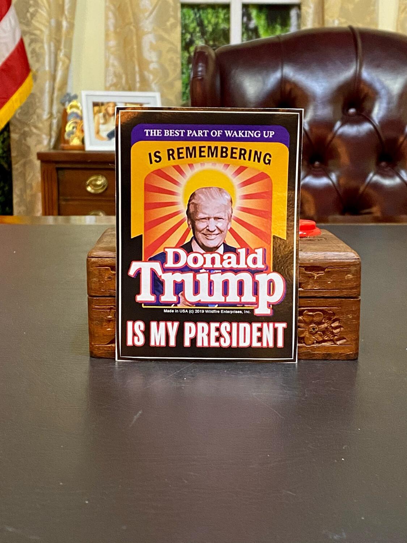 """""""Best Part Of Waking Up..."""" Bumper Sticker"""