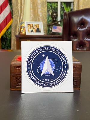 Space Force Bumper Sticker