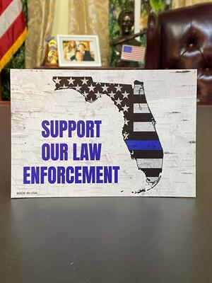 Support Our Law Enforcement Magnet