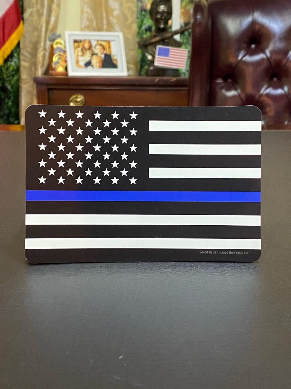 Blue Line Flag Magnet