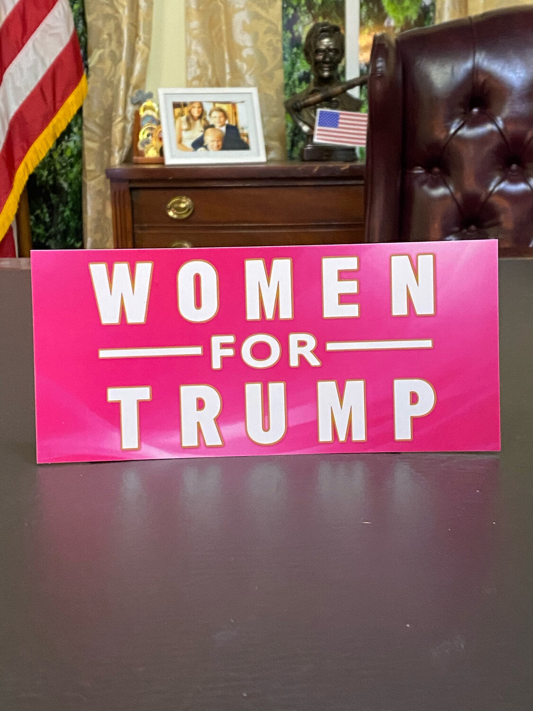 Women For Trump Bumper Sticker