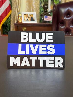 Blue Lives Matter Magnet