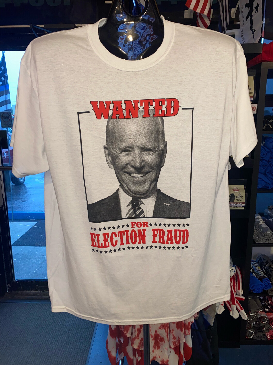 Wanted For Election Fraud Tshirt