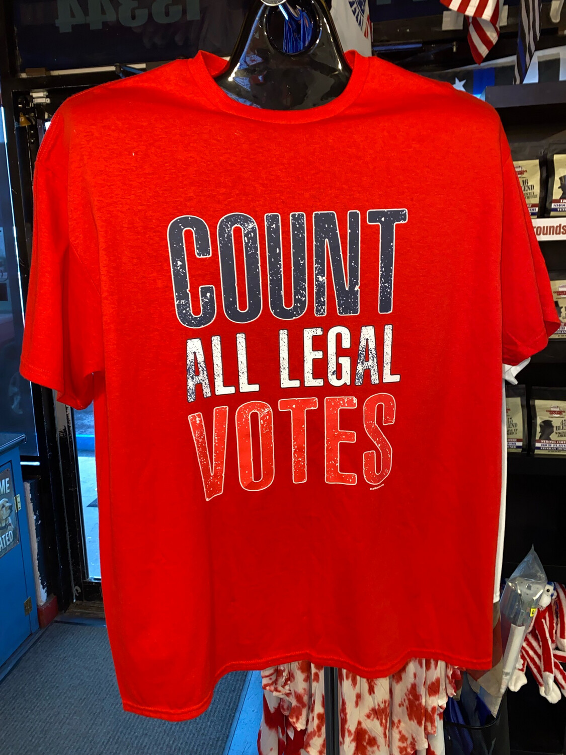 Count All Legal Votes Tshirt