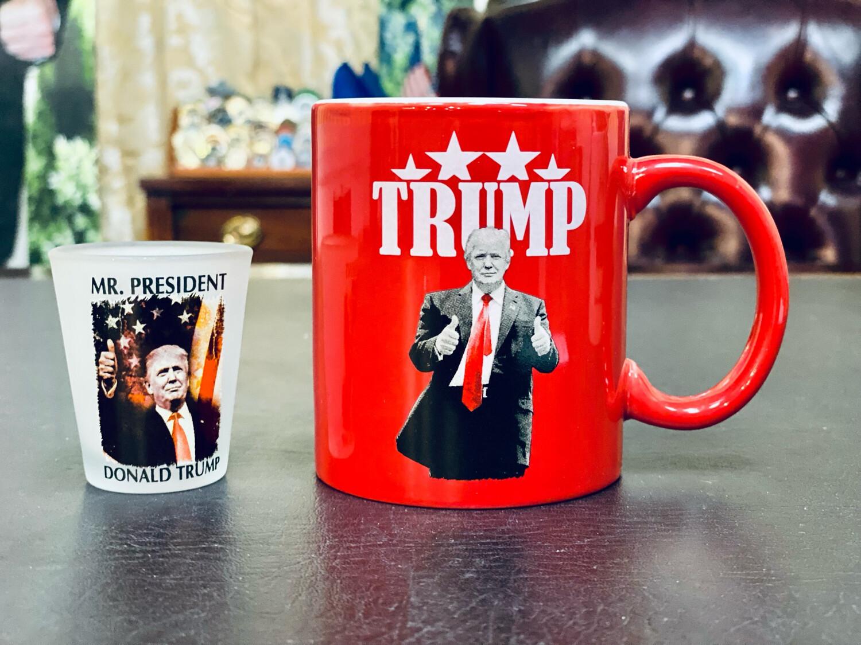 Mug And Shot Glass Set