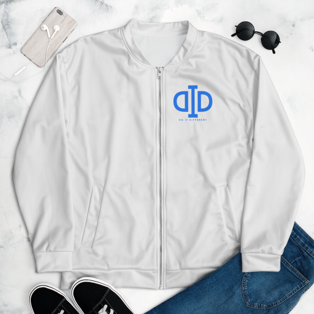 Logo and Thinking Bomber Jacket