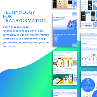 Technology As A Tool For Transformation