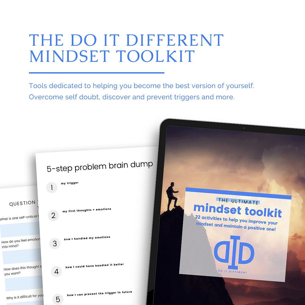 22 Mindset Tools to Do It Different