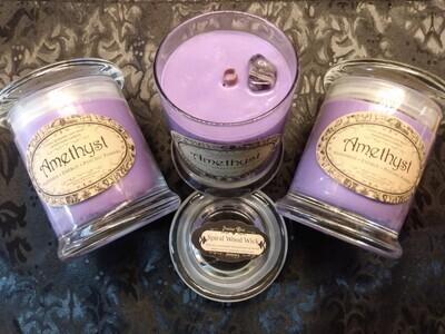 Amethyst Candle