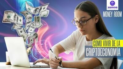 Money Room - Como vivir de la Criptoeconomía - 1 mes