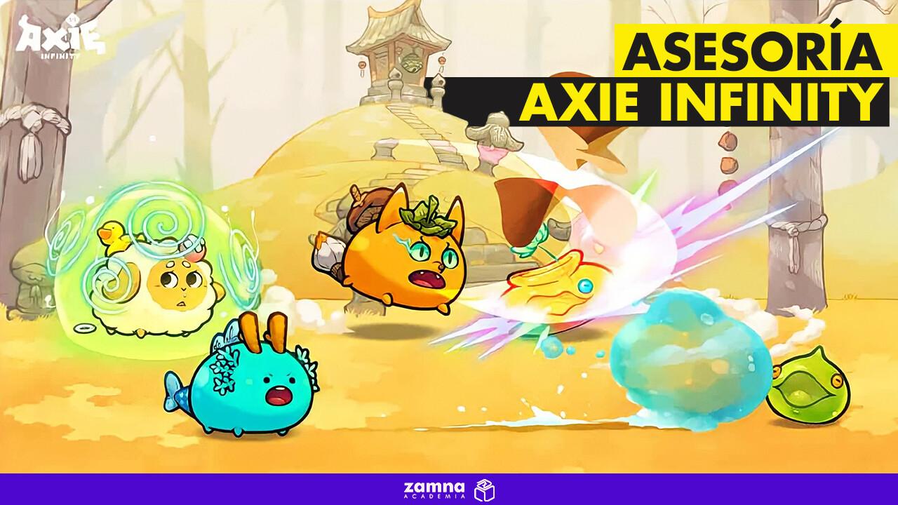 Asesoría Personalizada Axie Infinity con Rafael.