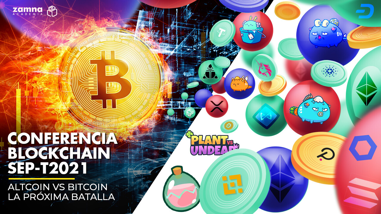 Conferencia BlockChain Septiembre - Altcoin vs Bitcoin