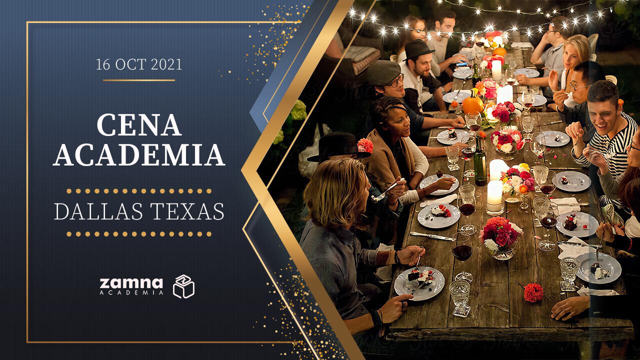 Cena Zamna Academia en Dallas - 16 Octubre