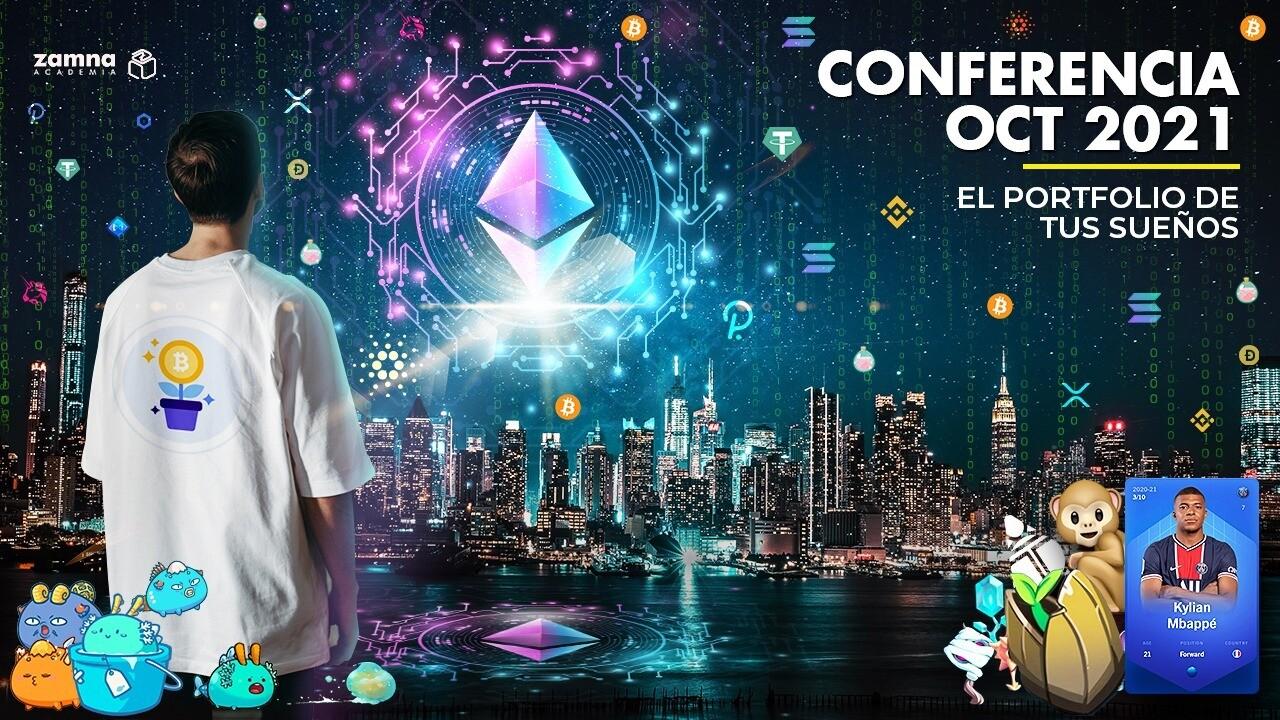 Conferencia Blockchain Octubre - El Portfolio de tus sueños