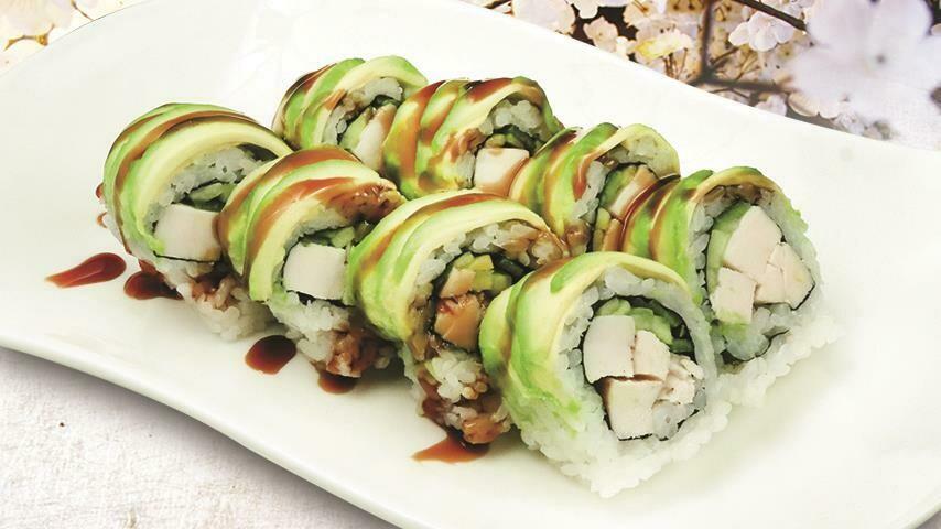 Avocado Chicken Teriyaki Roll
