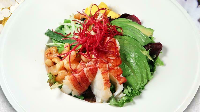 Grilled Lobster & Seafood Salad