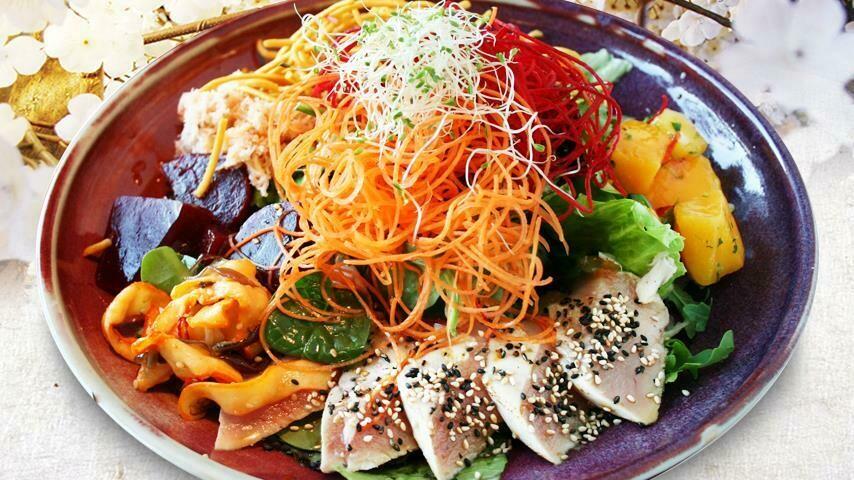 Sushi Mori Oriental Salad