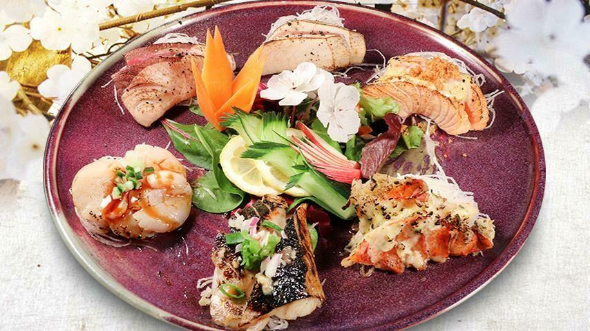 Aburi Assorted Sashimi