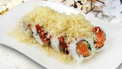 Crunch Spicy Salmon Roll