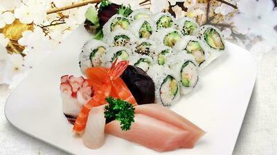 Sashimi & Roll Combo