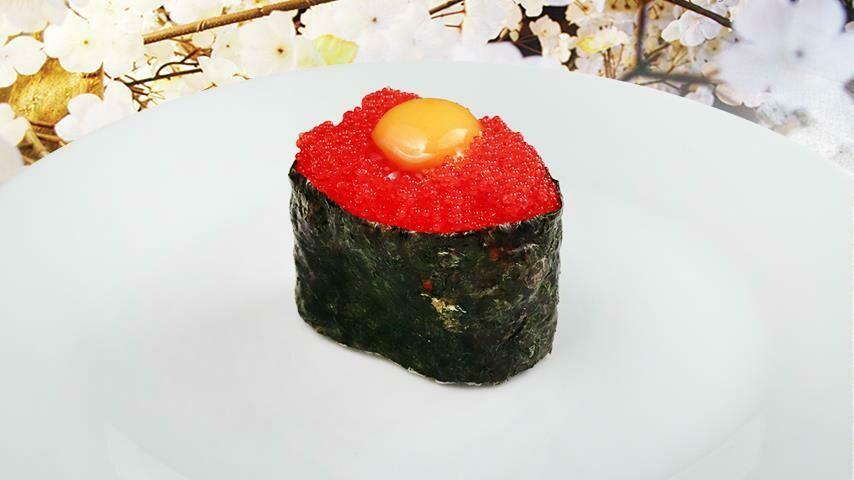 Tobiko & Quail Egg
