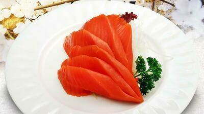 Wild Sockeye Salmon Sashimi