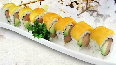 Mango Tuna Avocado Roll