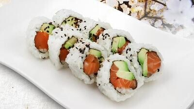 Sockeye Salmon Avocado Roll