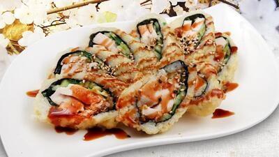 Fried Chicken Teriyaki Roll