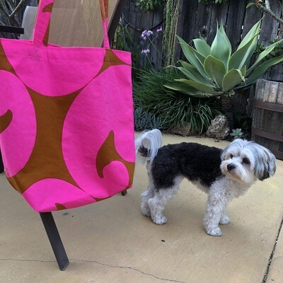 Vintage Fabric Hand-sewn Totes
