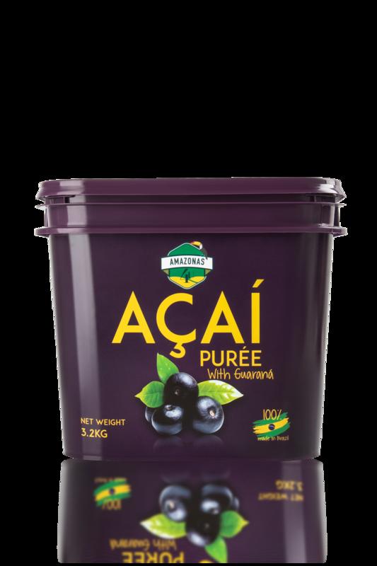 Açaí with guaraná purée