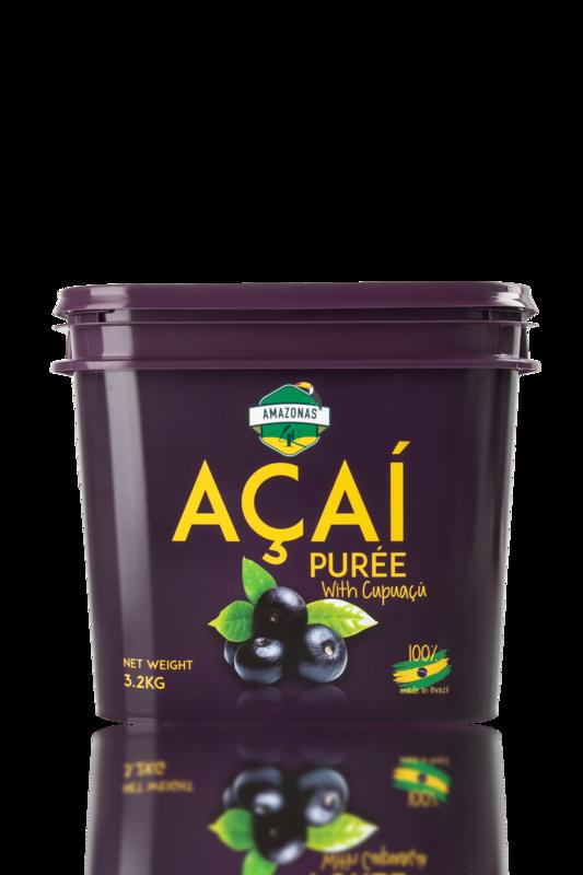 Açaí with cupuaçu purée