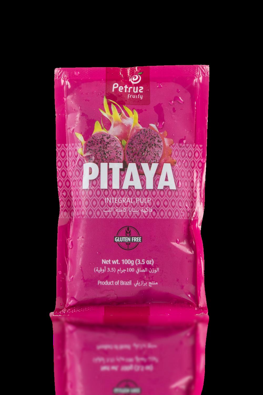 Pink pitaya pulp
