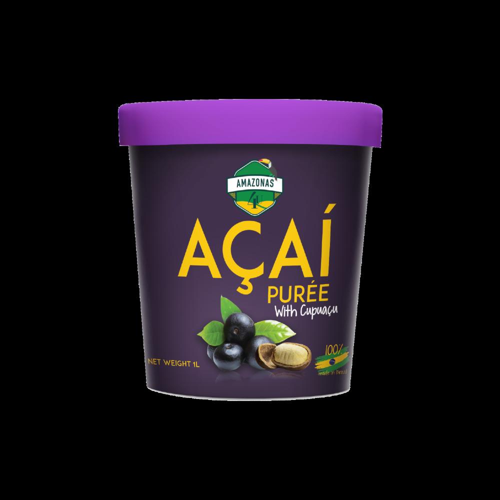 Açaí with cupuaçu purée (1L)