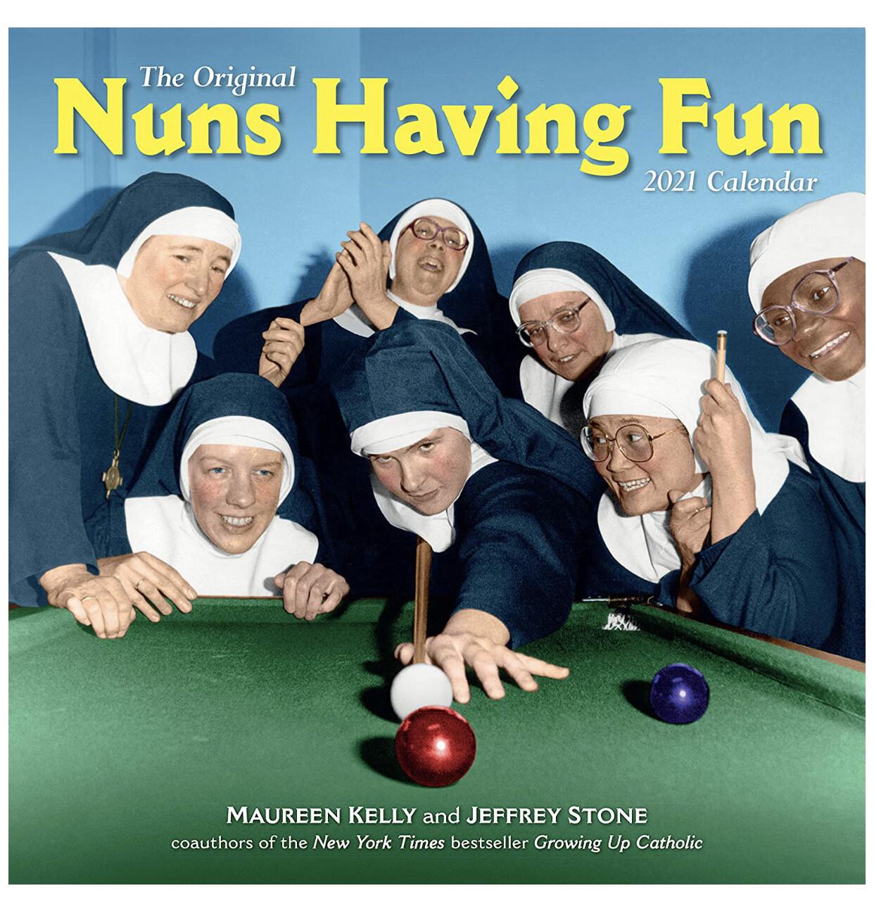 Nuns Having Fun 2021 Calendar