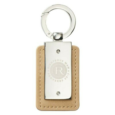 Righteous Man Keyring in Tin - Proverbs 20:7