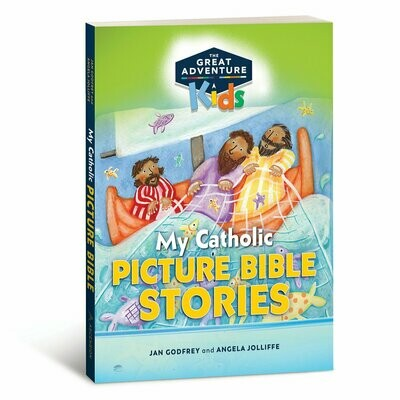 Adventure Kids: My Catholic Picture Bible Stories