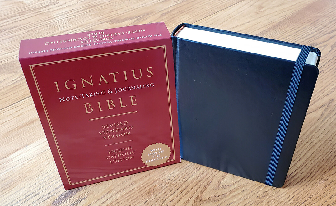 Ignatius Note-Taking & Journaling Bible RSV SCE