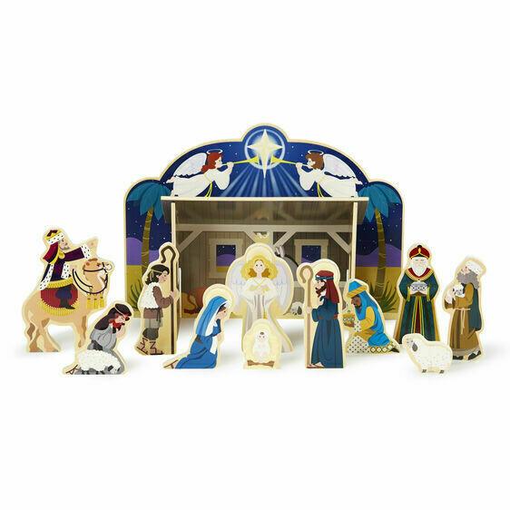Wooden Nativity Set Melissa and Doug