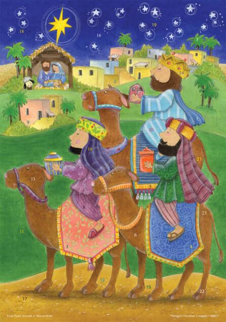 We Three Kings Advent Calendar BB831