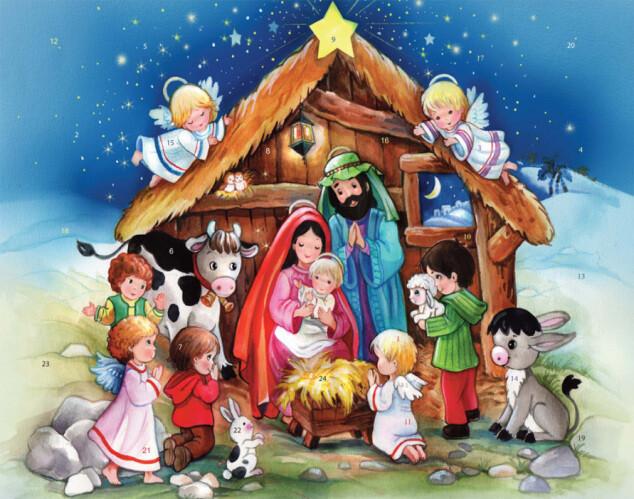 The Crib Advent Calendar BB763