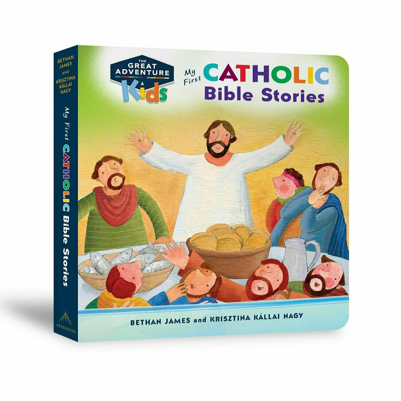 Adventure Kids: My First Catholic Bible Stories by Bethan James and Ksisztina Kallai Nagy