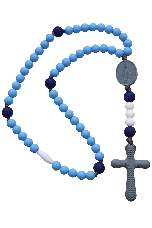 Chews Life Rosary Sky & Indigo CLR-MMN-BLU