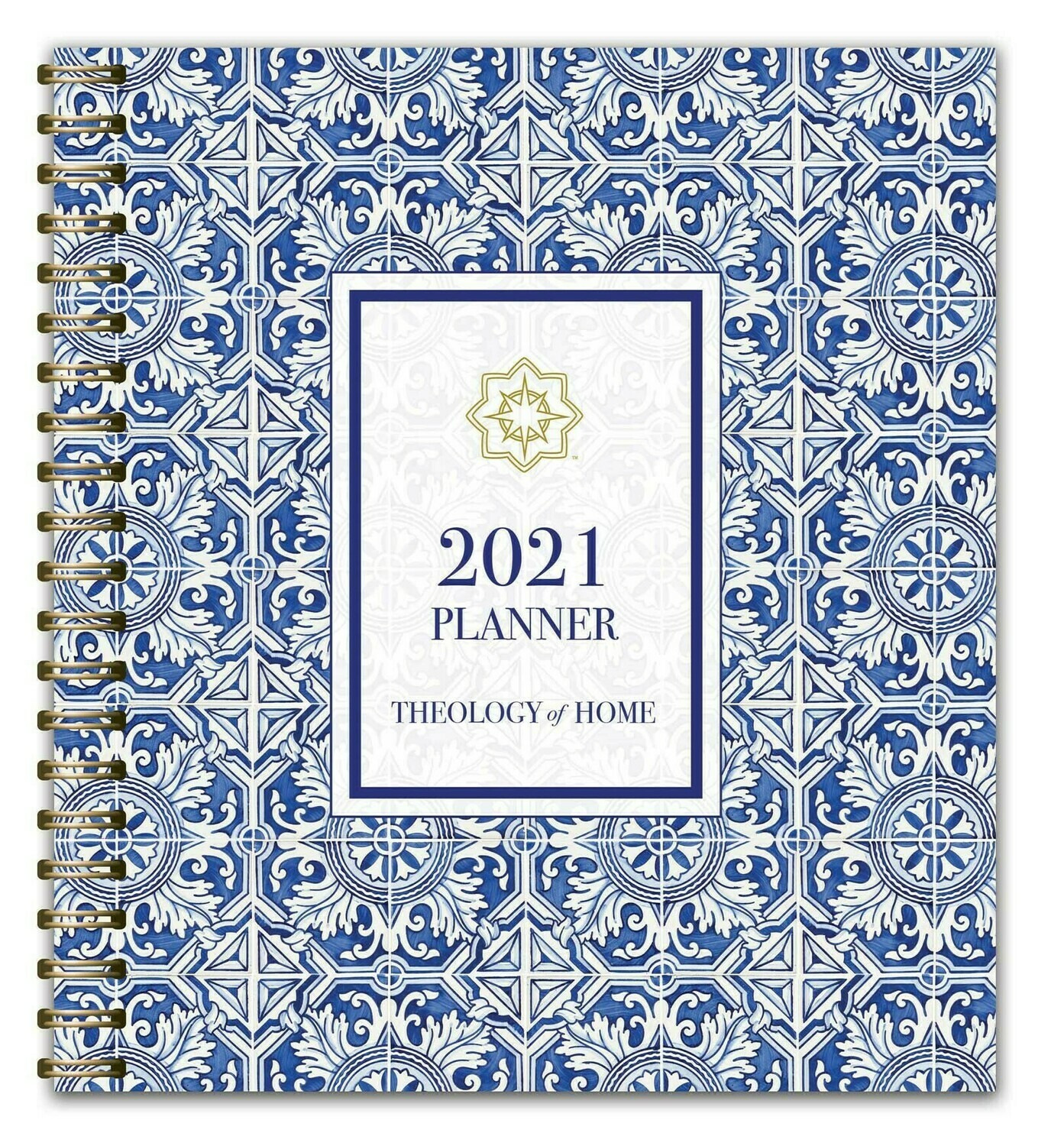 2021 Theology of Home Planner by Carrie Gress