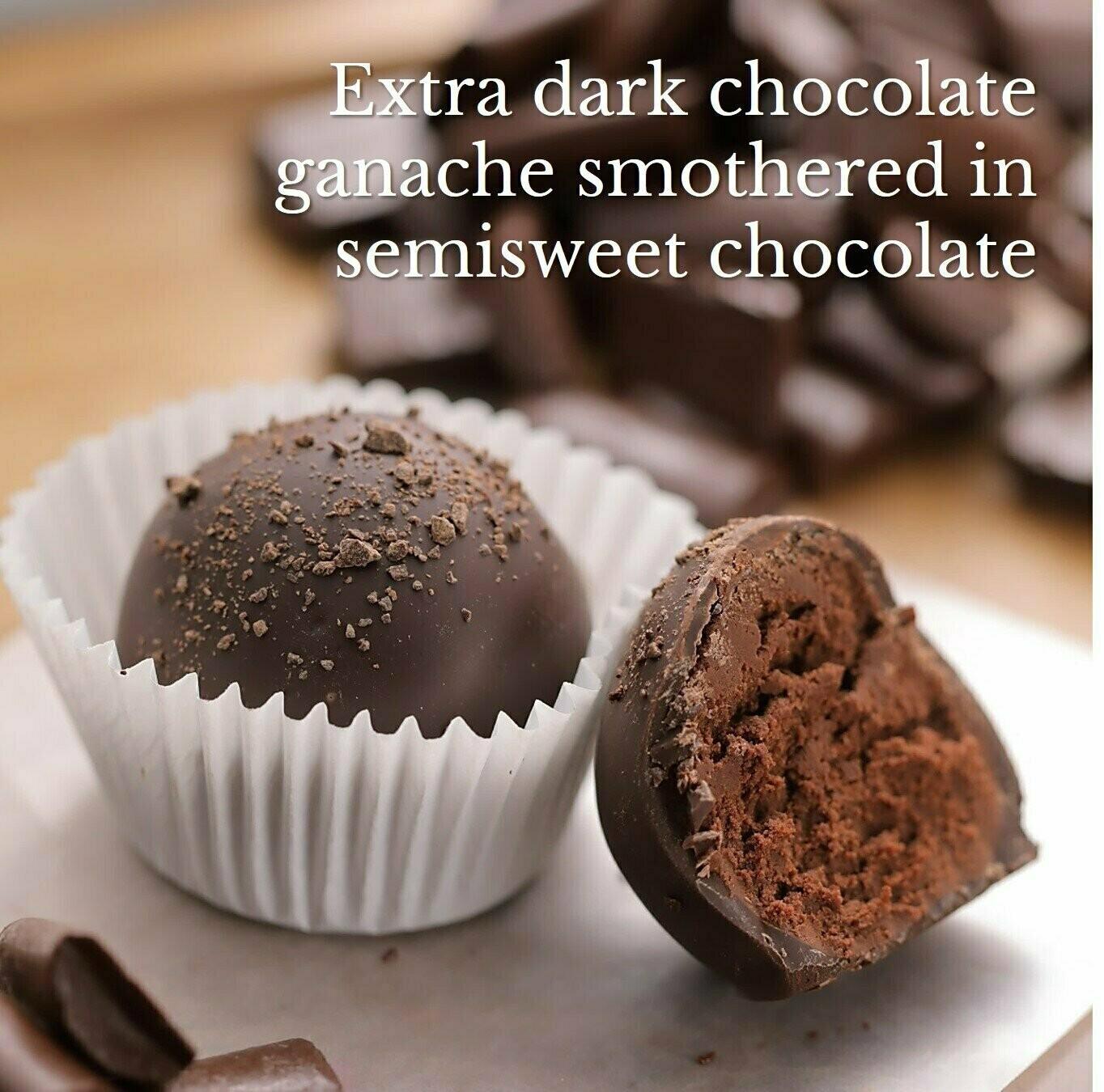 Brigittine Monks Extra Dark Chocolate Truffles Royale 4