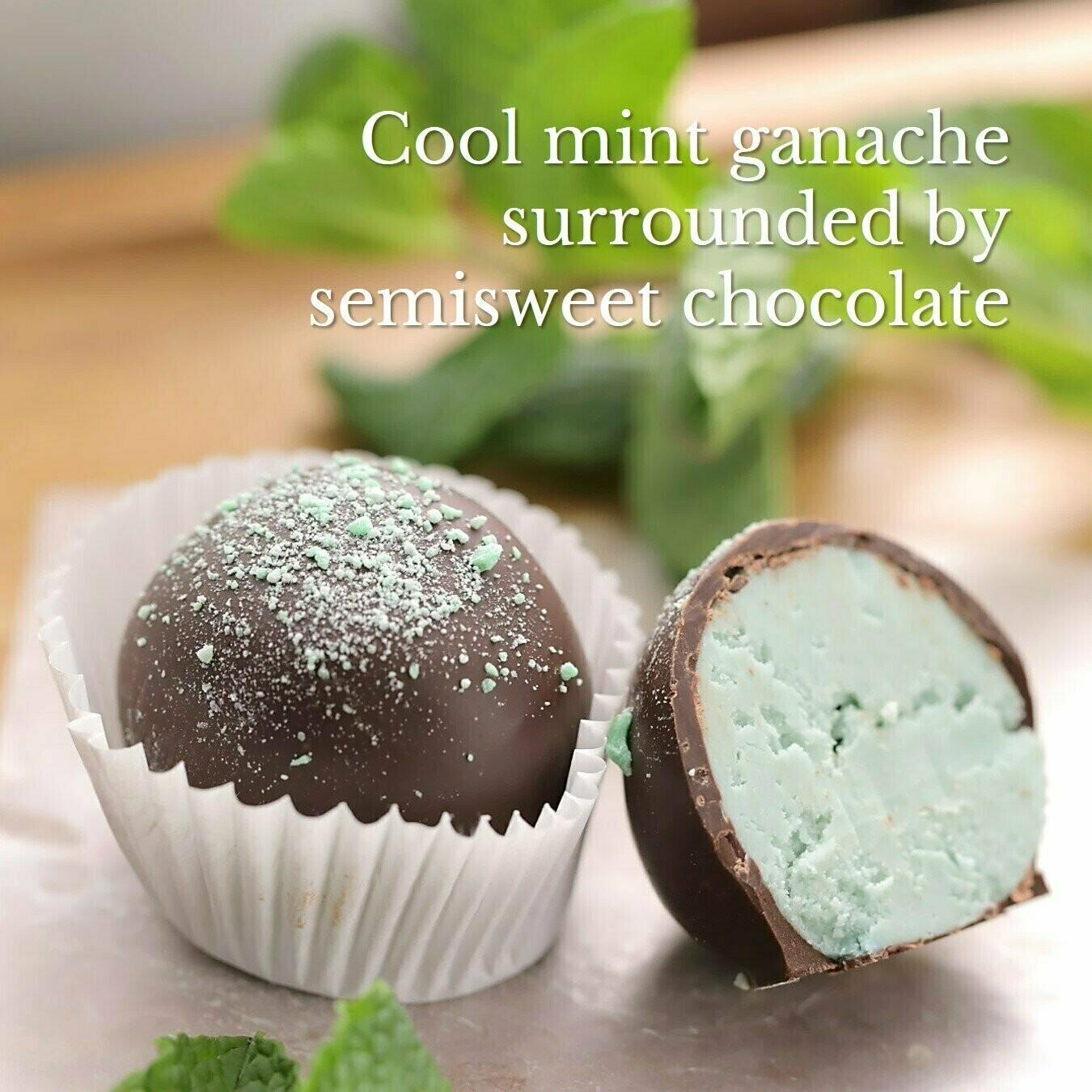 Brigittine Monks Mint Chocolate Truffles 4
