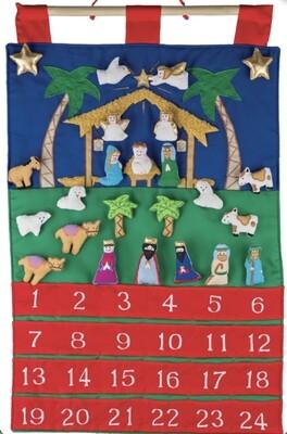 Nativity Fabric Advent Calendar VC200